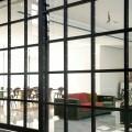 Steel & glass sliding door